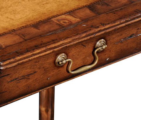 Jonathan Charles - Country Walnut and Oyster Side Table - 493213