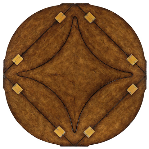 Jonathan Charles - Figured Walnut Square To Circle Dining Table - 493591