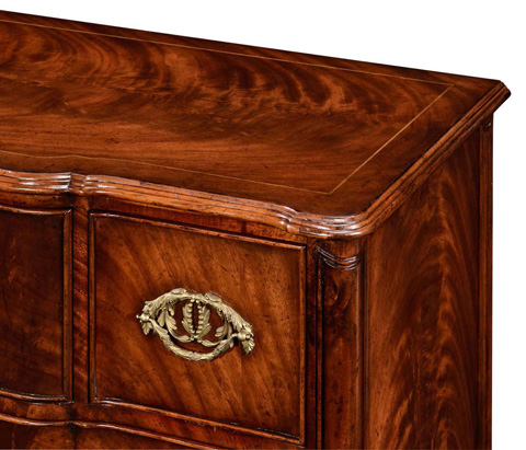 Jonathan Charles - George I Chest Drawers with Royal Crest - 494328