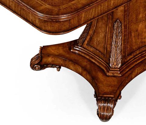 Jonathan Charles - Regency Rectangular Centre Table on Pedestal Base - 494408