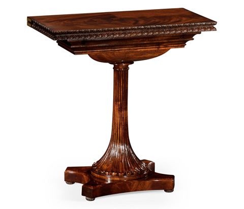 Jonathan Charles - William IV Mahogany Games Table - 494513