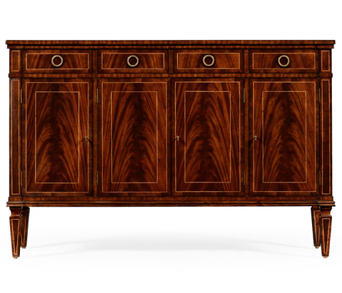 Jonathan Charles - Regency Style Mahogany Sideboard with Four Doors - 494842