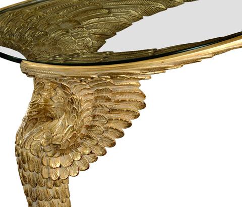 Jonathan Charles - Empire Style  Winged  Sofa Table - 495100