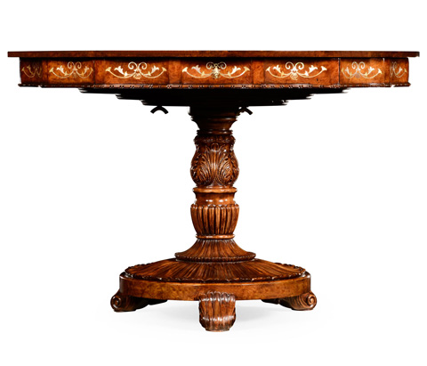 Jonathan Charles - Burl and Mother of Pearl Centre Table - 499329