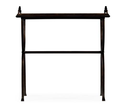 Jonathan Charles - Bronze Iron Tray Table - 494179-B