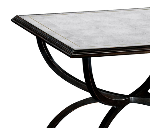 Jonathan Charles - Bronze Iron Set Two Tables - 494188-B