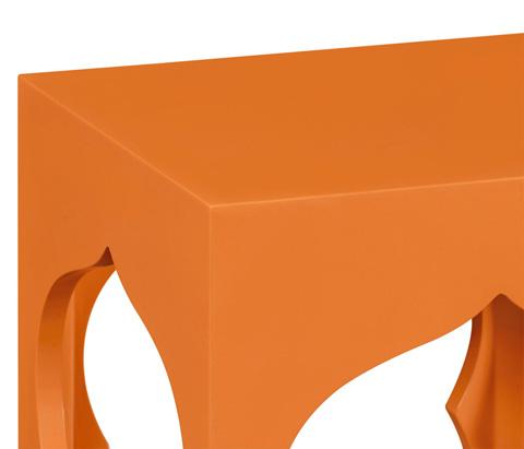 Jonathan Charles - Square Lamp Table - 495373-C2