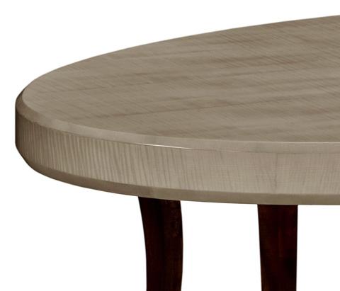 Jonathan Charles - Opera Art Deco Oval Coffee Table - 494139-GSH