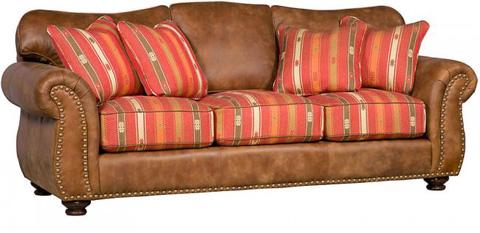 King Hickory - Santana Leather Sofa - 8000-LF