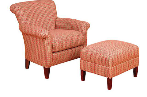 King Hickory - Francis Chair with Ottoman - 661/668