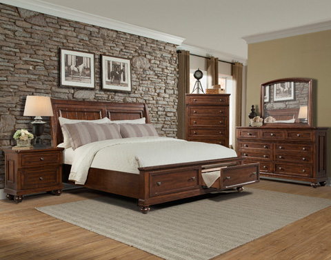 Klaussner Home Furnishings - Queen Bed - 415-150 QBED