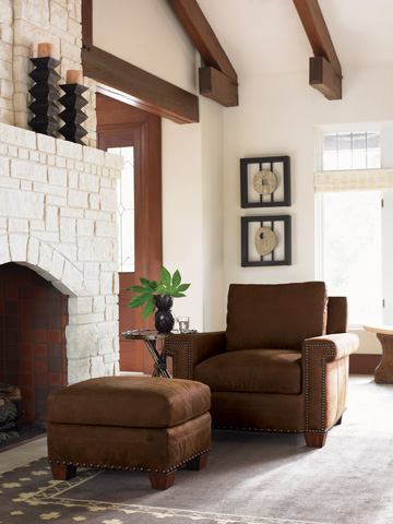 Lexington Home Brands - Torres Leather Chair - 7542-11-02