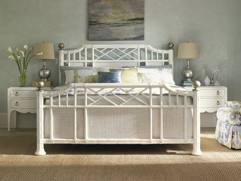 Tommy Bahama - Pritchards Bay Panel Bed, 6/6 King - 543-134C