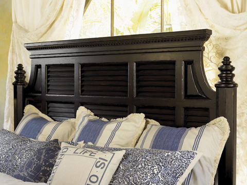 Tommy Bahama - Malabar Panel Bed-6/6 King - 619-134C