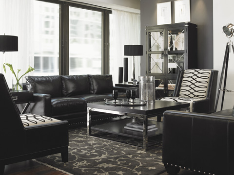 Lexington Home Brands - Pearl Leather Chair - LL7304-11