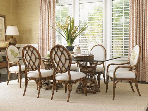 Tommy Bahama - Gulfstream Oval Back Arm Chair - 593-881-02