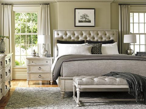 Lexington Home Brands - Sag Harbor Tufted Upholstered Bed - 714-134C