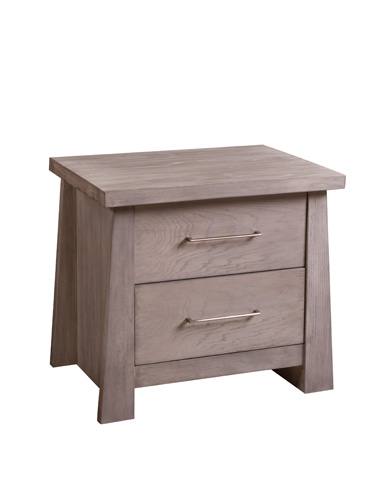 Ligna Furniture - Zen Two Drawer Nightstand - 8122