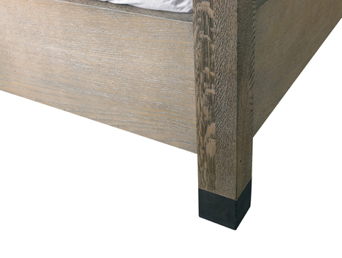 Lillian August Fine Furniture - Metropolitan Weathered King Bed - LA98524-01