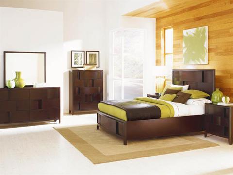 Magnussen Home - Nova Chestnut Three Drawer Nightstand - B1428-01