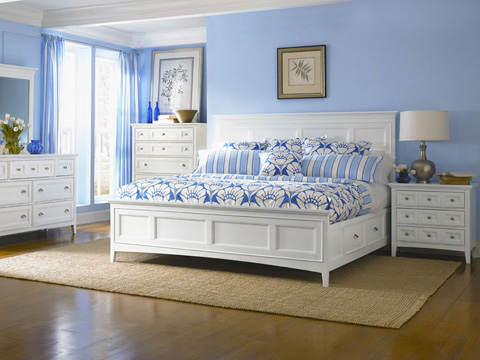 Magnussen Home - Kentwood White Five Drawer Chest - B1475-10