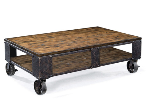 Magnussen Home - Rectangular Cocktail Table with Casters - T1755-43