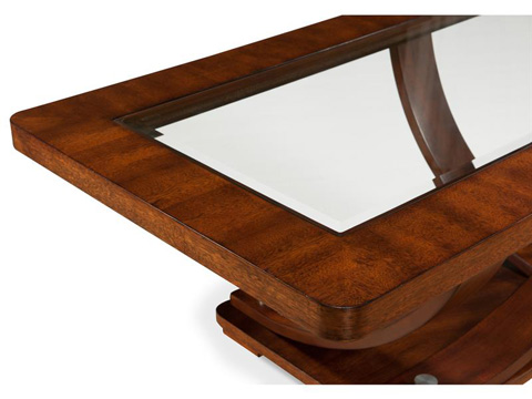 Magnussen Home - Rectangular End Table - T2908-03