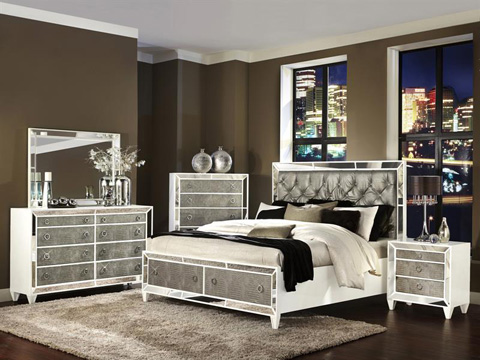 Magnussen Home - Queen Panel Bed with Storage Footboard - B2935-55