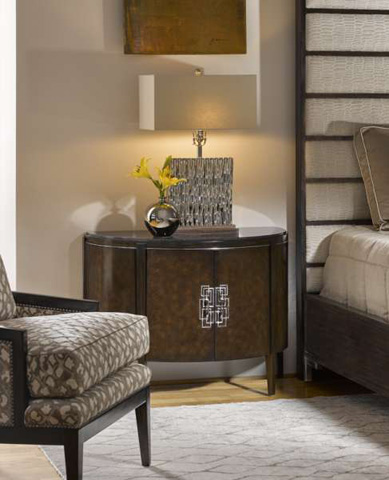 Marge Carson - Lake Shore Drive Nightstand - LDR13