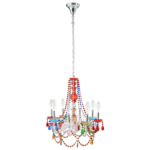 Modway Furniture - Palace Acrylic Chandelier in Multicolored - EEI-317