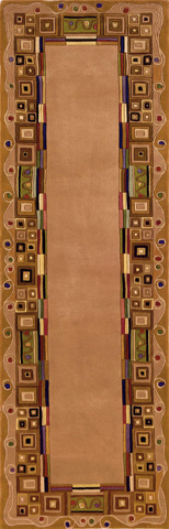 Momeni - New Wave Rug in Gold - NW-034 GOLD