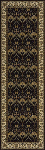 Momeni - Persian Garden Rug in Charcoal - PG-12 CHARCOAL