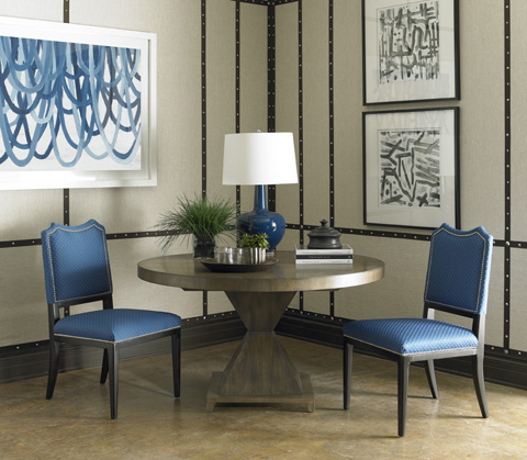 Mr. and Mrs. Howard by Sherrill Furniture - Hourglass Dining Table - MH10010
