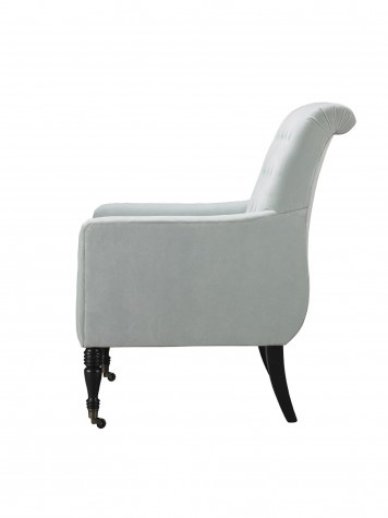 Mr. and Mrs. Howard by Sherrill Furniture - Keswick Chair with Casters - H407C