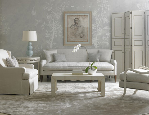 Mr. and Mrs. Howard by Sherrill Furniture - Parker Sofa - H706S