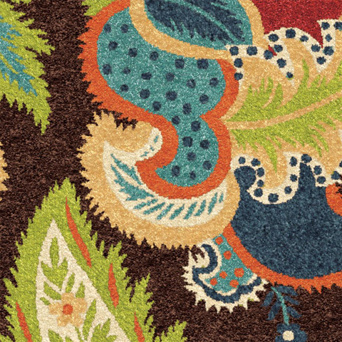 Orian Rugs - Ethridge Brown 5'2