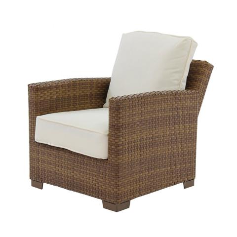 Pelican Reef - Panama Jack St Barths Recliner Lounge Chair - PJO-3001-BRN-RL
