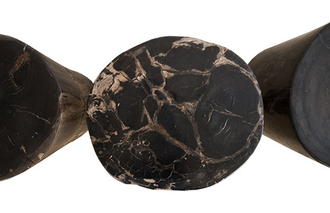Phillips Collection - Petrified Wood Stool - ID77985