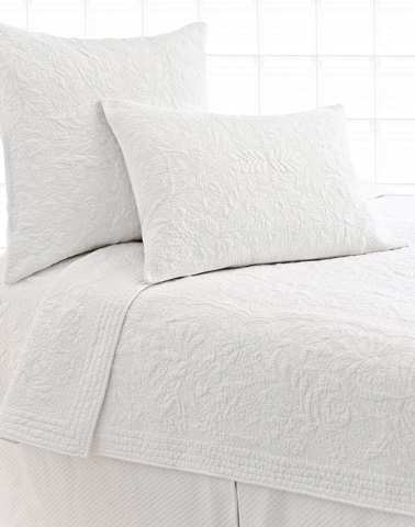 Pine Cone Hill, Inc. - Rosary White Quilt - King - Q86WHK