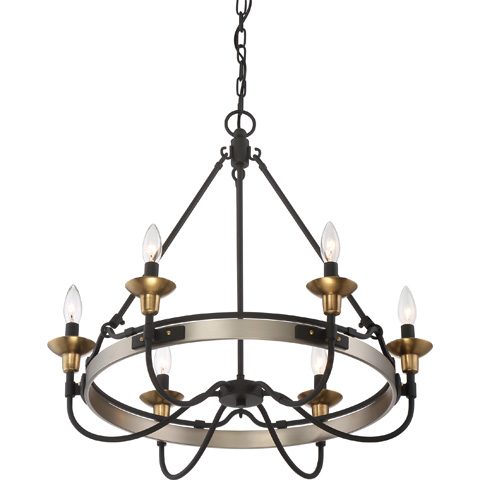 Quoizel - Castle Hill Chandelier - CTH5006AN