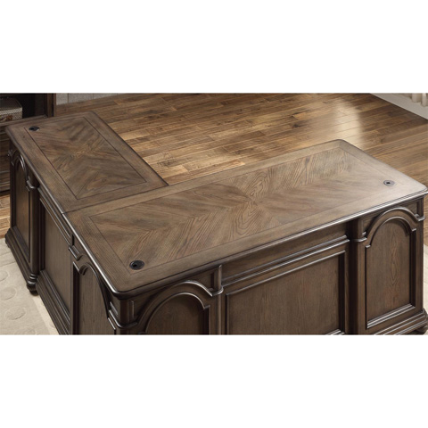 Riverside Furniture - L Desk and Return - 15832