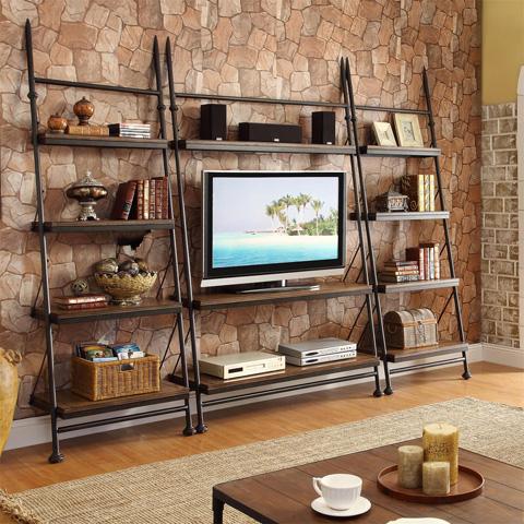 Riverside Furniture - Leaning Bookcase - 23748