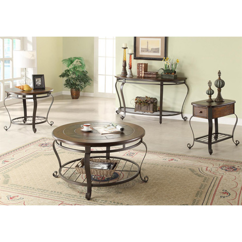 Riverside Furniture - Chairside Table - 54710