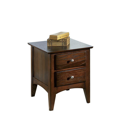 Riverside Furniture - Two Drawer Side Table - 66006