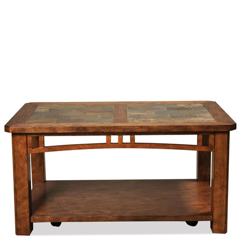 Riverside Furniture - Coffee Table with Casters - 82903