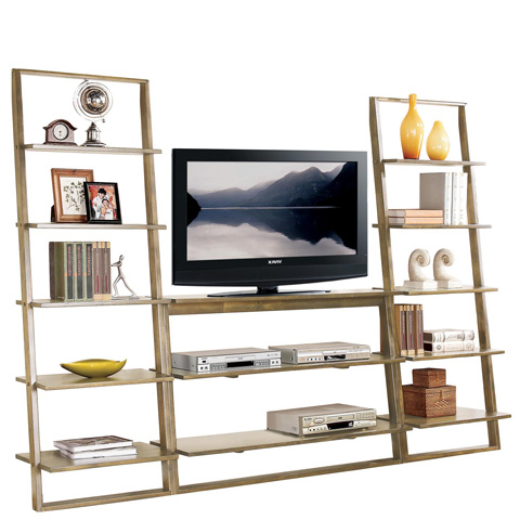 Riverside Furniture - Leaning TV Stand - 27743