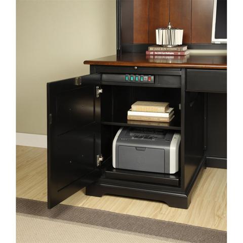 Riverside Furniture - L-Shaped Computer Workstation - 7130