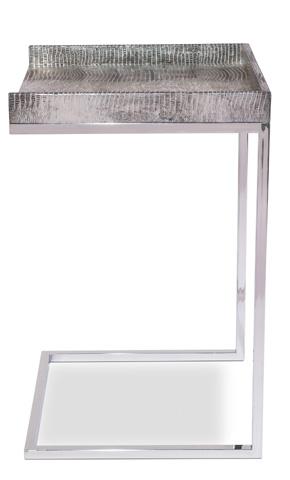 Sarreid Ltd. - Silver Laptop Table - 29566