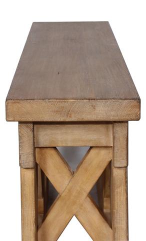 Sarreid Ltd. - Rustic Bridge Console Table - 30123