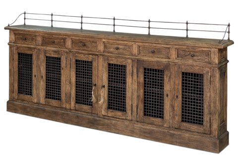 Sarreid Ltd. - Narrow Sideboard - 30467